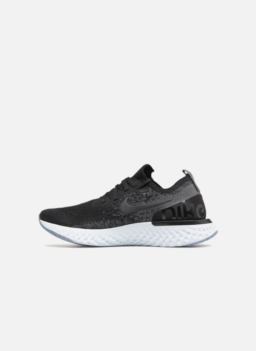Black pure dark black Wmns React Grey Platinum Nike Epic Flyknit 1qWwIP1Sp