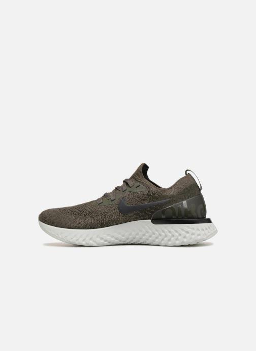 Sportschoenen Nike Wmns Nike Epic React Flyknit Groen voorkant