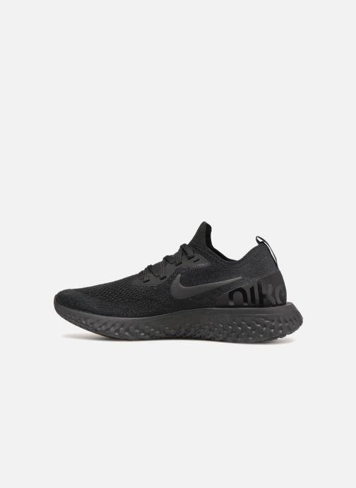 Zapatillas de deporte Nike Wmns Nike Epic React Flyknit Negro vista de  frente a98cf70ac860b