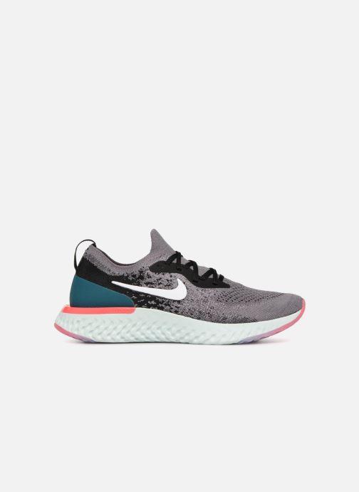 Chaussures de sport Nike Wmns Nike Epic React Flyknit Gris vue derrière