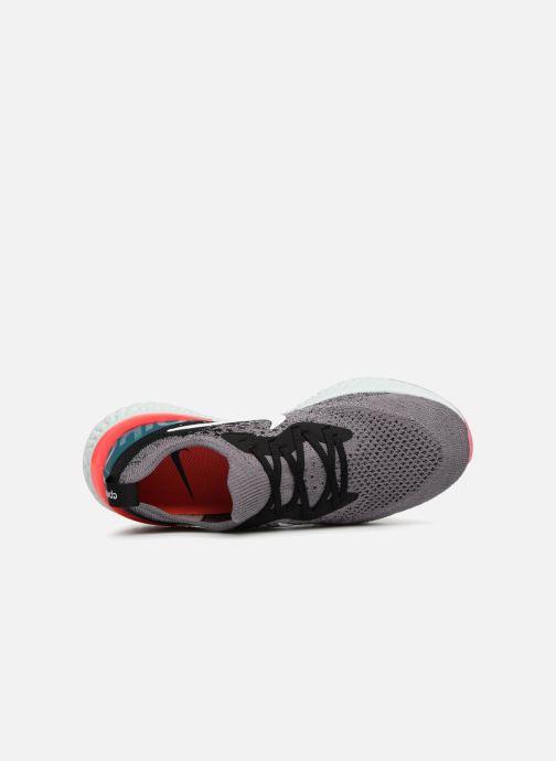 Sportschuhe Nike Wmns Nike Epic React Flyknit grau ansicht von links