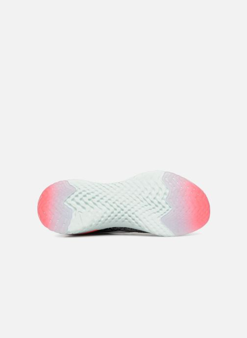 Chaussures de sport Nike Wmns Nike Epic React Flyknit Gris vue haut