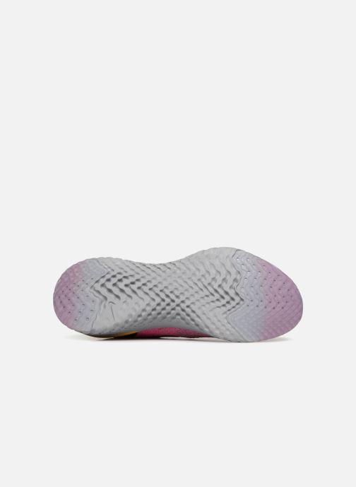 Zapatillas de deporte Nike Wmns Nike Epic React Flyknit Rosa vista de arriba