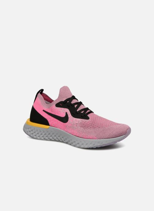 Zapatillas de deporte Nike Wmns Nike Epic React Flyknit Rosa vista de detalle / par