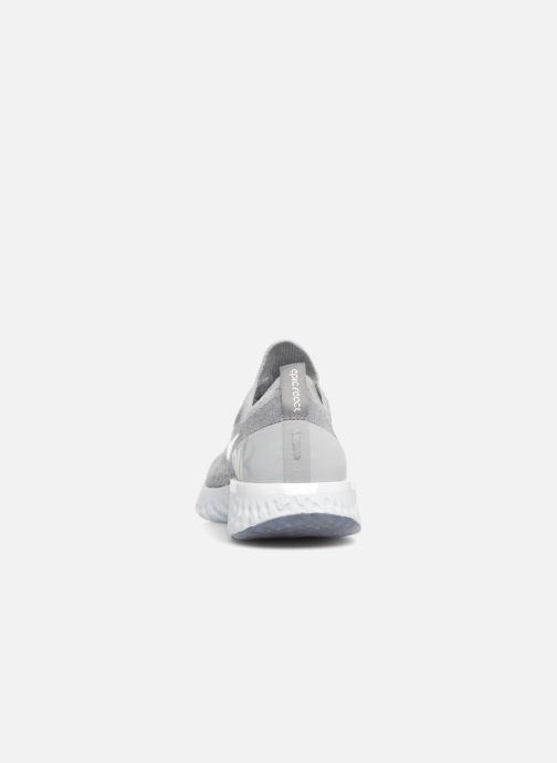Sportschoenen Nike Wmns Nike Epic React Flyknit Grijs rechts