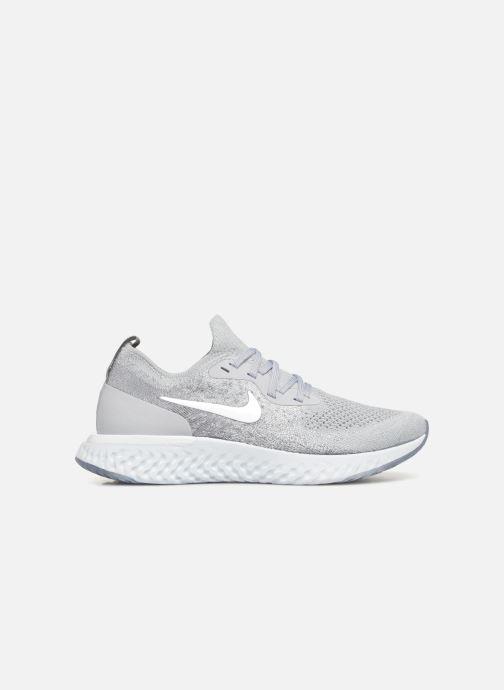 Sportschoenen Nike Wmns Nike Epic React Flyknit Grijs achterkant