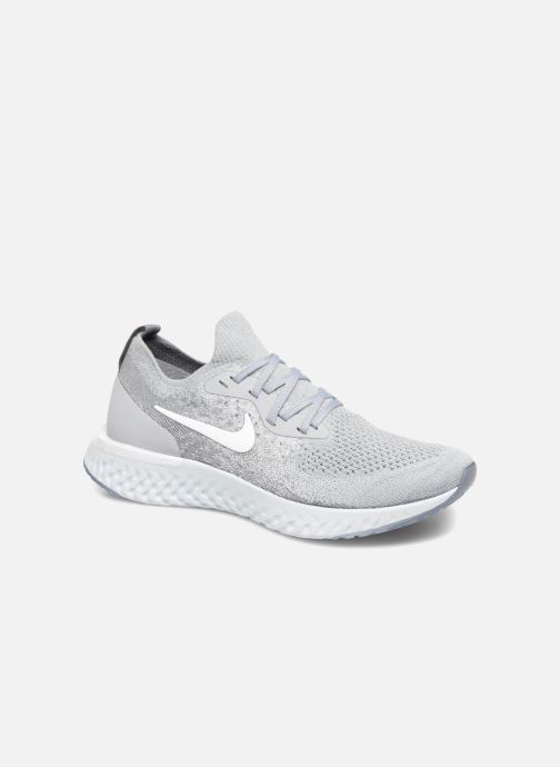 Sportschoenen Nike Wmns Nike Epic React Flyknit Grijs detail