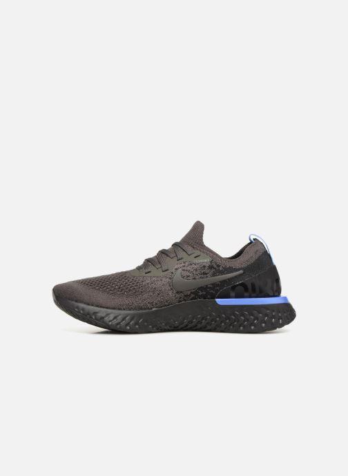 Chaussures de sport Nike Wmns Nike Epic React Flyknit Noir vue face