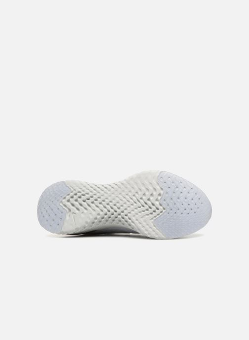 Sport shoes Nike Wmns Nike Epic React Flyknit White view from above