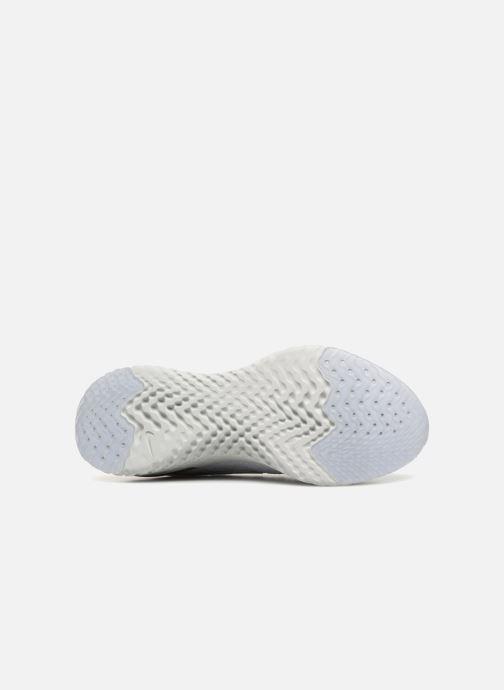 Sportskor Nike Wmns Nike Epic React Flyknit Vit bild från ovan