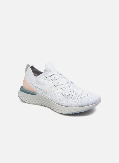 1a249e06144eb Sport shoes Nike Wmns Nike Epic React Flyknit White detailed view  Pair view