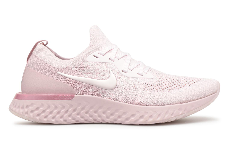 Chaussures de sport Nike Wmns Nike Epic React Flyknit Rose vue derrière