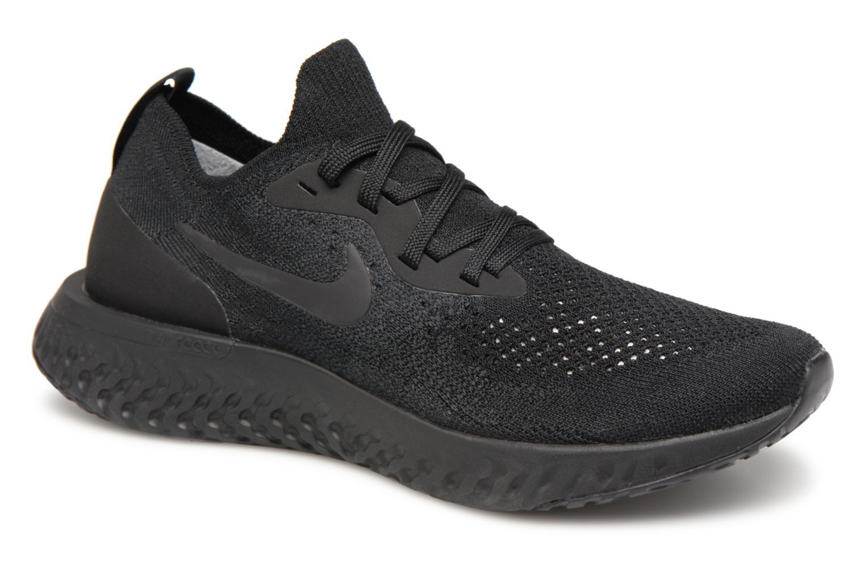 Nike Wmns Nike Epic React Flyknit (Noir) - Chaussures de sport en Más cómodo Meilleur modèle de vente