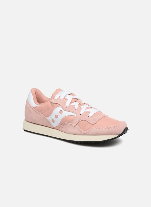 Sneaker Saucony Dxn trainer  Vintage rosa detaillierte ansicht/modell