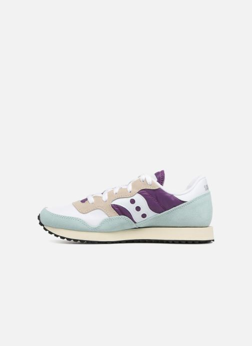 Sneakers Saucony Dxn trainer  Vintage Azzurro immagine frontale