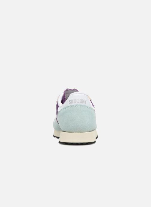 Sneaker Saucony Dxn trainer  Vintage blau ansicht von rechts
