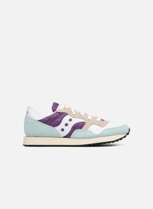 Sneaker Saucony Dxn trainer  Vintage blau ansicht von hinten