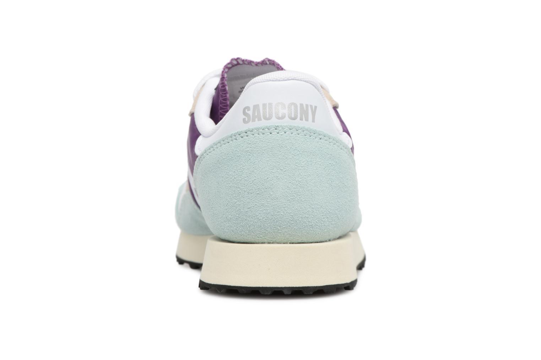 Baskets Saucony Dxn trainer  Vintage Bleu vue droite