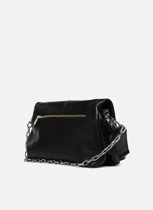 Handbags Zadig & Voltaire ROCKY Black view from the right