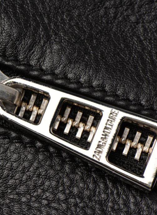 Bolsos de mano Zadig & Voltaire SUNNY MEDIUM Negro vista lateral izquierda