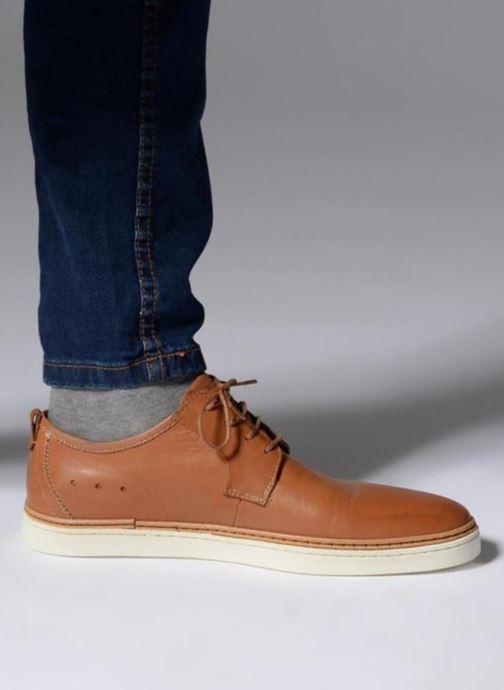Zapatos con cordones Mr SARENZA Suriva Marrón vista de abajo