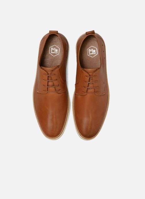 Zapatos con cordones Mr SARENZA Suriva Marrón vista del modelo