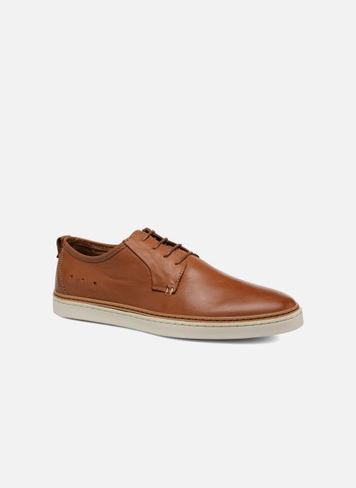 Zapatos con cordones Mr SARENZA Suriva Marrón vista lateral derecha
