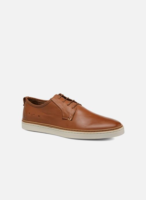 Lace-up shoes Mr SARENZA Suriva Brown view from the right