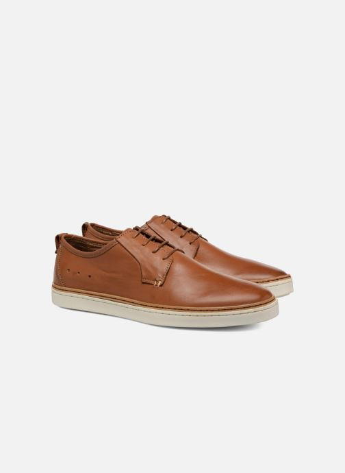 Lace-up shoes Mr SARENZA Suriva Brown back view