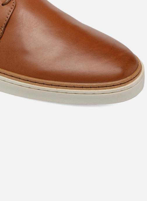 Zapatos con cordones Mr SARENZA Suriva Marrón vista lateral izquierda