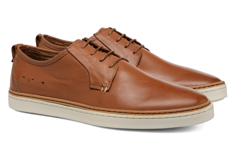 Chaussures à lacets Mr SARENZA Suriva Marron vue derrière
