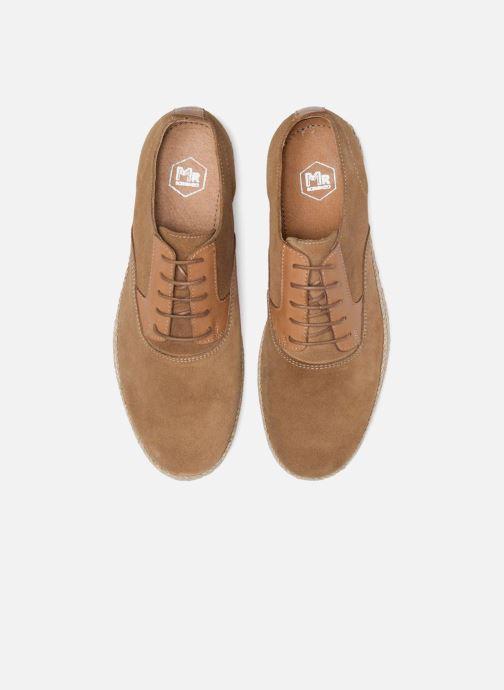 Zapatos con cordones Mr SARENZA Scorda Marrón vista del modelo