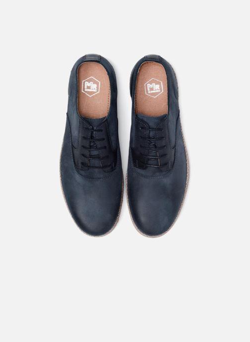 Zapatos con cordones Mr SARENZA Scorda Azul vista del modelo