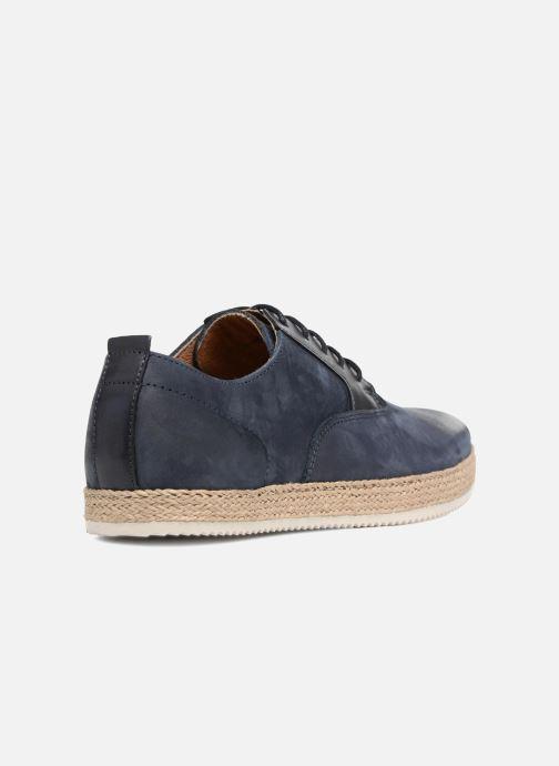 Zapatos con cordones Mr SARENZA Scorda Azul vista de frente