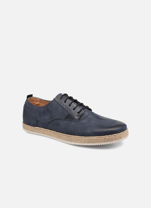 Zapatos con cordones Mr SARENZA Scorda Azul vista lateral derecha