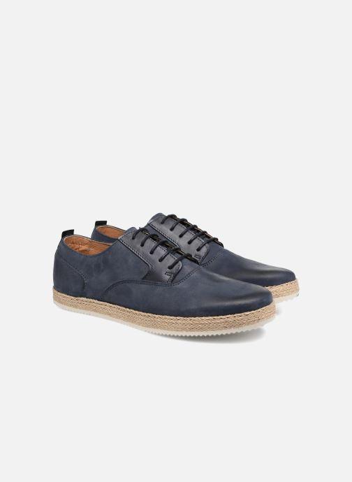 Zapatos con cordones Mr SARENZA Scorda Azul vistra trasera