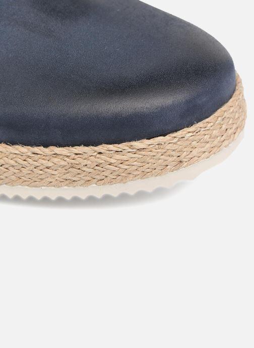 Zapatos con cordones Mr SARENZA Scorda Azul vista lateral izquierda