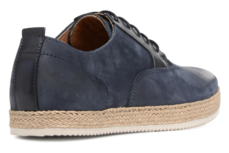 Chaussures à lacets Mr SARENZA Scorda Bleu vue face