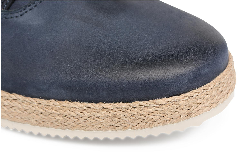 Chaussures à lacets Mr SARENZA Scorda Bleu vue gauche