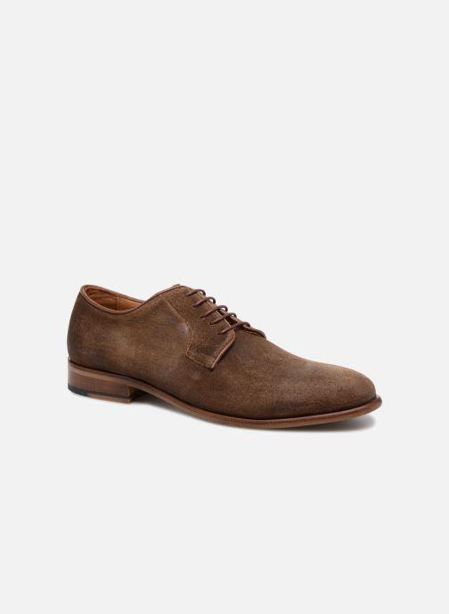 Zapatos con cordones Mr SARENZA Slanova Marrón vista lateral derecha