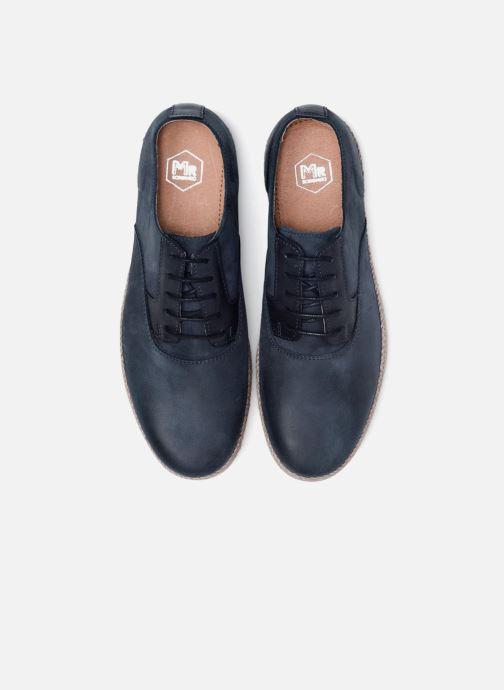 Scarpe con lacci Mr SARENZA Slanova Marrone modello indossato
