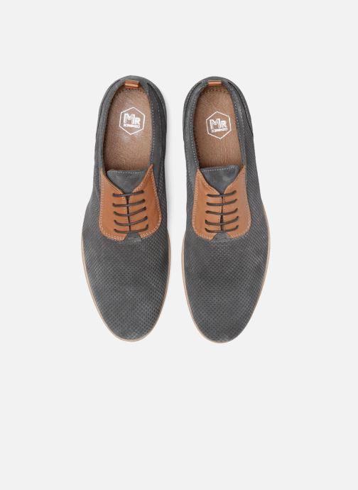 Zapatos con cordones Mr SARENZA Surtop Gris vista del modelo