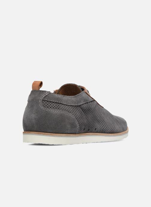 Zapatos con cordones Mr SARENZA Surtop Gris vista de frente