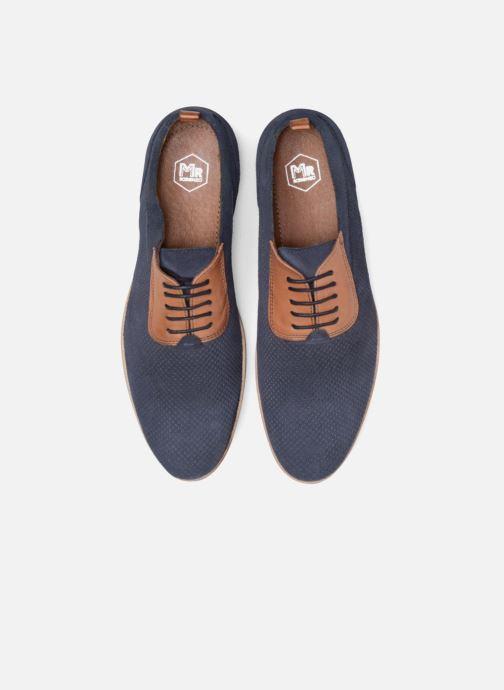 Zapatos con cordones Mr SARENZA Surtop Azul vista del modelo