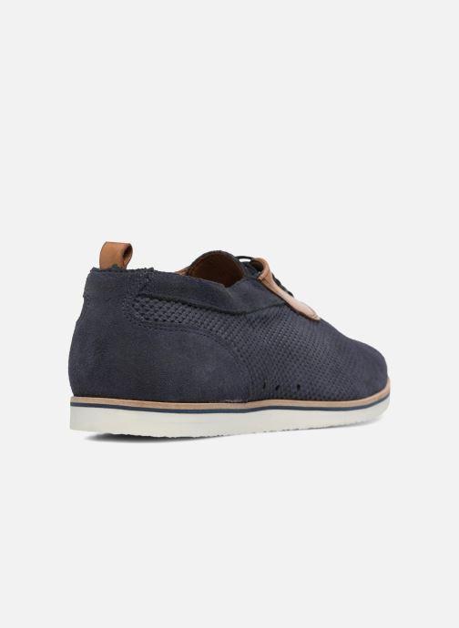 Zapatos con cordones Mr SARENZA Surtop Azul vista de frente