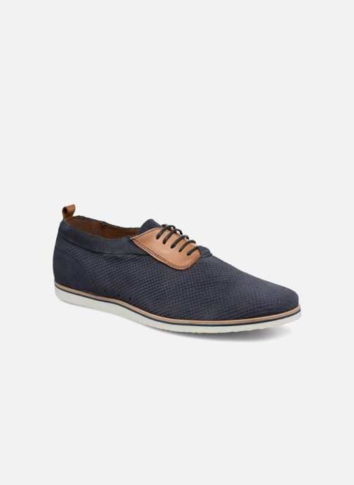 Zapatos con cordones Mr SARENZA Surtop Azul vista lateral derecha