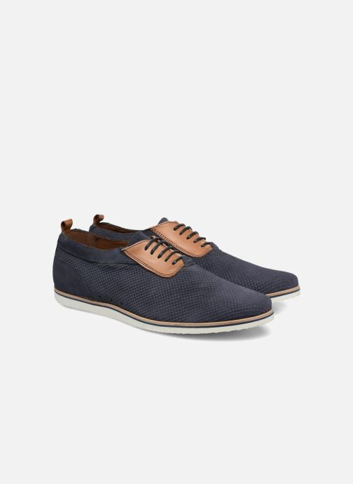Zapatos con cordones Mr SARENZA Surtop Azul vistra trasera