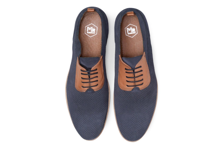 Scarpe con lacci Mr SARENZA Surtop Azzurro modello indossato