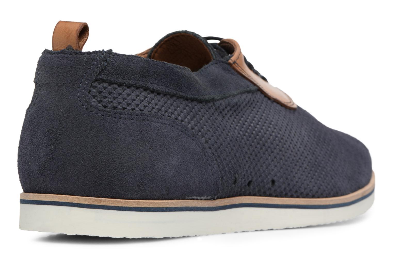Chaussures à lacets Mr SARENZA Surtop Bleu vue face