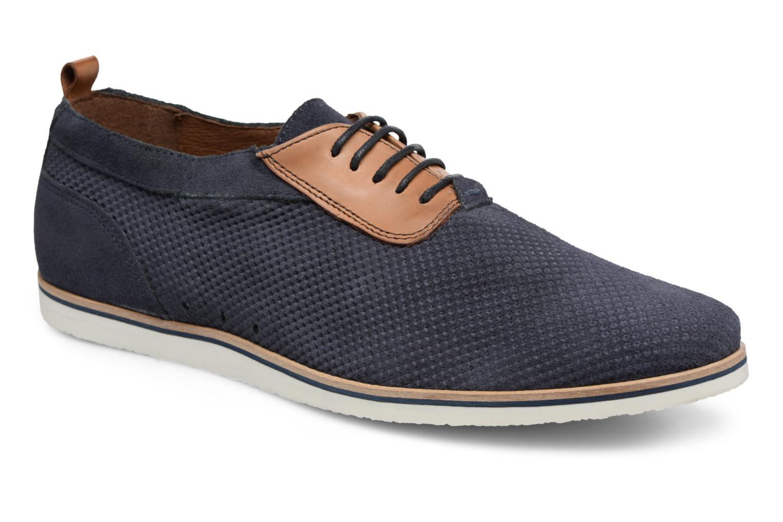 Chaussures à lacets Mr SARENZA Surtop Bleu vue droite